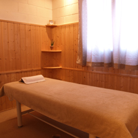 個室の施術室