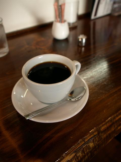 カフェロッシーの本格コーヒー